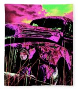 Steve's Truck Fleece Blanket