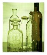 Still Life Of Bottles  Fleece Blanket