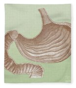Stomach Fleece Blanket