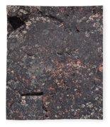 Stone Face Fleece Blanket