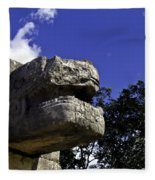 Stone Face Fleece Blanket