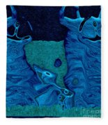 Stone Men 28c2b - Celebration Fleece Blanket