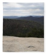Stone Mountain State Park Fleece Blanket