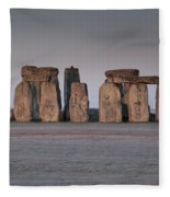 Stonehenge Wiltshire Fleece Blanket