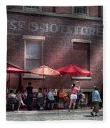 Storefront - Bastile Day In Frenchtown Fleece Blanket