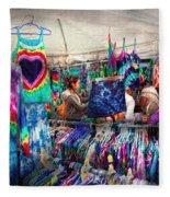 Storefront - Tie Dye Is Back  Fleece Blanket