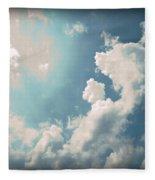 Storm Clouds - 1 Fleece Blanket