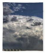 Storm Clouds Thunderhead Fleece Blanket