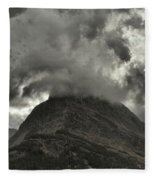 Storm Over Grinnell Fleece Blanket
