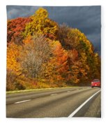 Stormin' Through Pennsylvania 2 Fleece Blanket