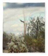 Stormy Sunshine Fleece Blanket