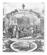 Story Of A Pauper, 1868 Fleece Blanket