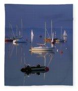 Strangford Lough, Co Down, Ireland Fleece Blanket