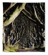 Stranocum, Co. Antrim, Ireland Fleece Blanket