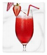 Strawberry Daiquiri Fleece Blanket