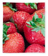 Strawberry Delight Fleece Blanket
