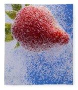 Strawberry Soda Dunk 2 Fleece Blanket