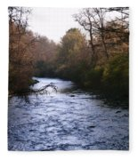 Streams Of Serenity Fleece Blanket