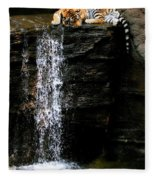 Strength At Rest Fleece Blanket