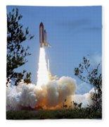 Sts-121 Launch Fleece Blanket