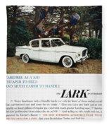 Studebaker Ad, 1959 Fleece Blanket