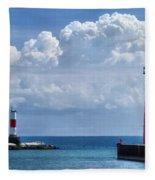 Studio Lighthouse Fleece Blanket