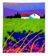 Study For Provence Painting Fleece Blanket