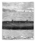 Submarine, 1852 Fleece Blanket