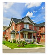 Suburban Homes Fleece Blanket