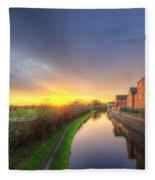Suburban Sunrise 8.0 Fleece Blanket