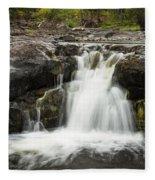 Sucker River Falls 2 J Fleece Blanket