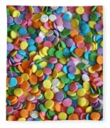 Sugar Confetti Fleece Blanket