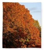Sugar Maple Fleece Blanket