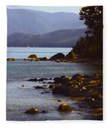 Sugar Pine Point Beach Fleece Blanket