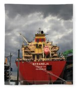 Sugar Ship Fleece Blanket