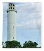 Sulfur Springs Water Tower Fleece Blanket