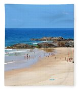 Summer At Port Macquarie Fleece Blanket