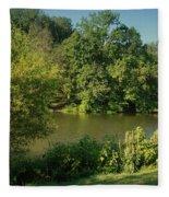Summer Happiness - Holmdel Park Fleece Blanket