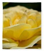 Summer Loves A Rose Fleece Blanket