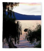 Summer Solitude Fleece Blanket