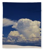 Summer Storms Over The Mountains 3 Fleece Blanket