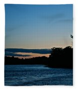 Summer Sundown Fleece Blanket