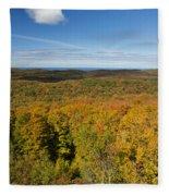 Summit Peak Autumn 11 Fleece Blanket
