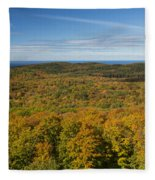 Summit Peak Autumn 12 Fleece Blanket