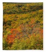 Summit Peak Autumn 6 Fleece Blanket