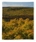 Summit Peak Autumn 9 Fleece Blanket