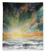 Sun Crash Fleece Blanket
