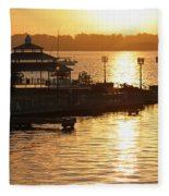 Sun Rising Fleece Blanket