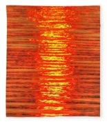 Sun Strings Fleece Blanket