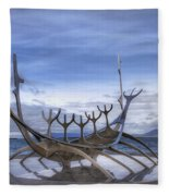 Sun Voyager Fleece Blanket